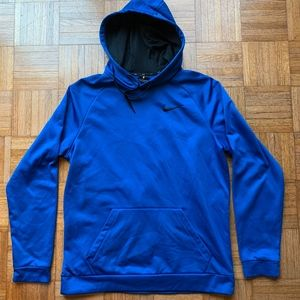 Nike Shirts - Men's NIKE Dry Fit Blue Pocket Sweatshirt, Large L
